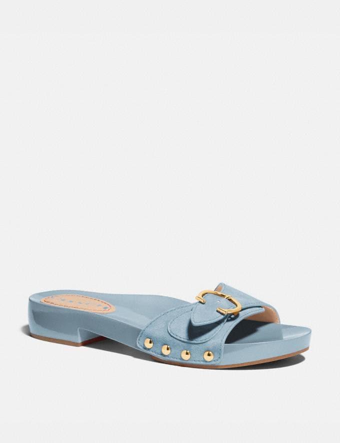 Coach Bleeker Sandal Waterfall Women Shoes Sandals