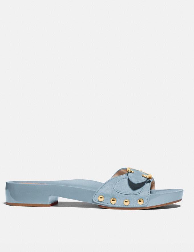 Coach Bleeker Sandal Waterfall Women Shoes Sandals Alternate View 1