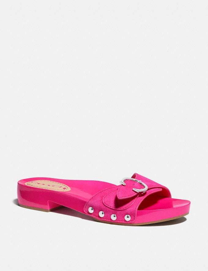 Coach Bleeker Sandal Shocking Pink New Women's New Arrivals