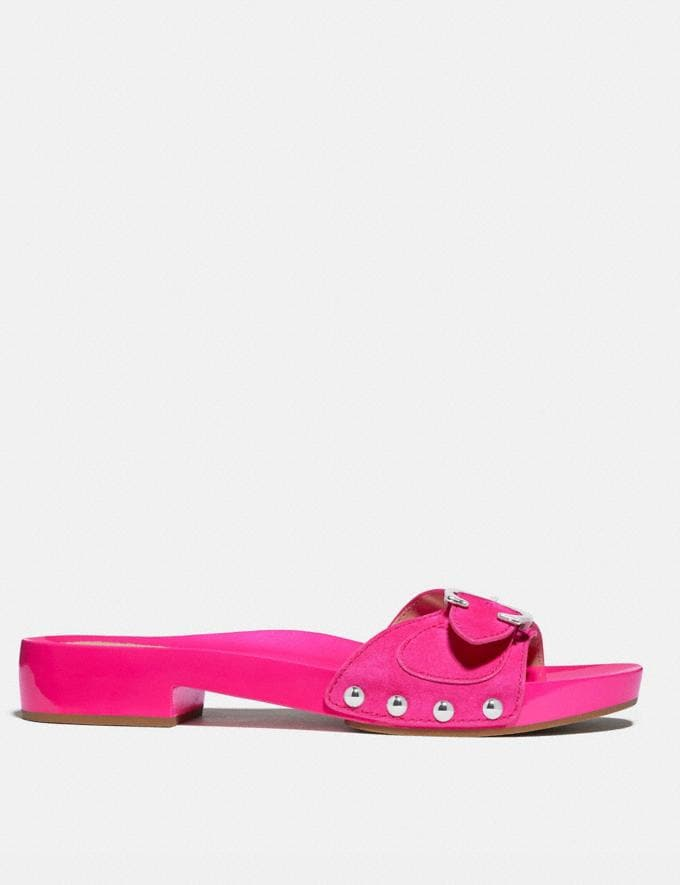 Coach Bleeker Sandal Shocking Pink New Women's New Arrivals Alternate View 1