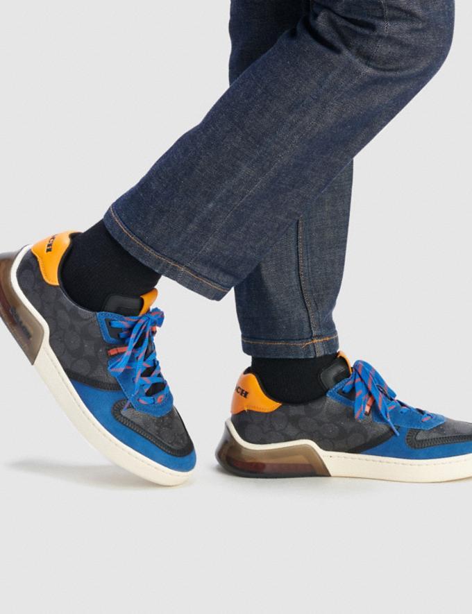Coach Citysole Court Sneaker Chalk Black Men Shoes Trainers Alternate View 4