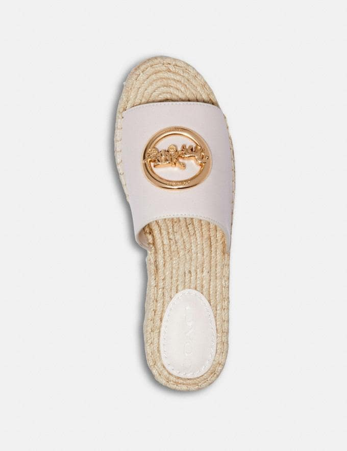 Coach Camille Espadrille Chalk  Alternate View 2