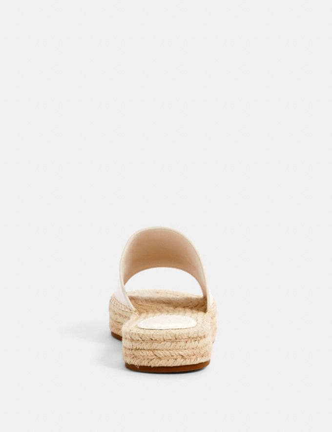Coach Camille Espadrille Chalk  Alternate View 3