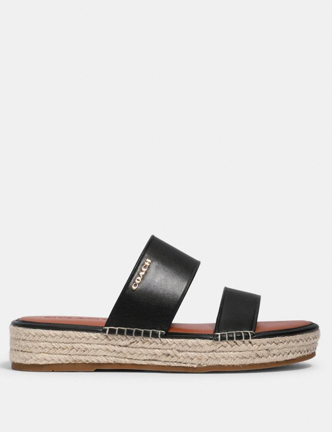 Coach Franca Espadrille Black  Alternate View 1