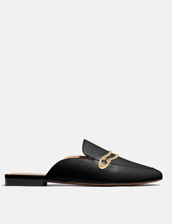 Coach Sawyer Slide Loafer Black Women Edits Work Alternate View 1