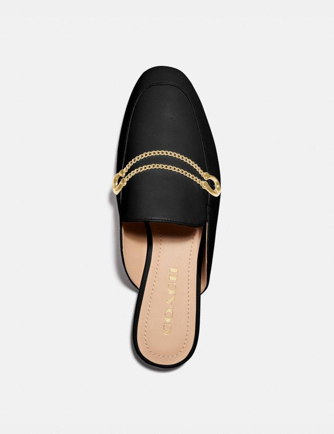 Coach Sawyer Slide Loafer Black Women Edits Work Alternate View 2