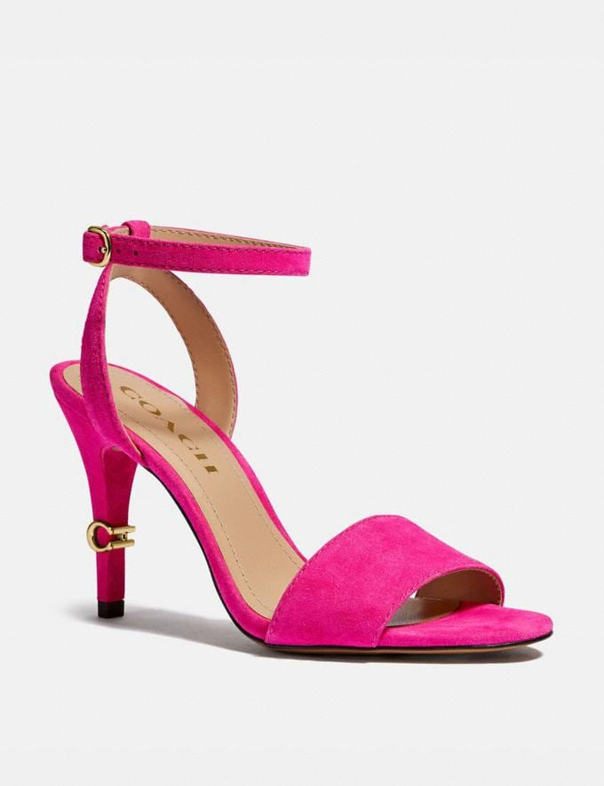 Coach Regina Sandal Shocking Pink New Women's New Arrivals