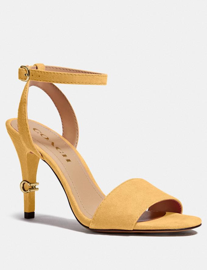 Coach Regina Sandal Tumeric PRIVATE SALE Shop by Price 40% Off
