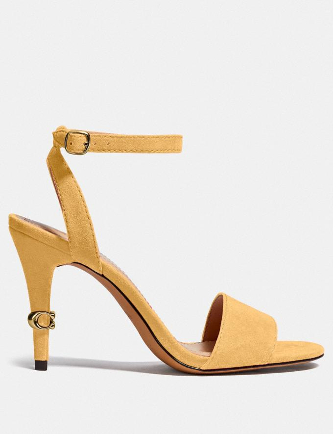 Coach Regina Sandal Tumeric PRIVATE SALE Shop by Price 40% Off Alternate View 1