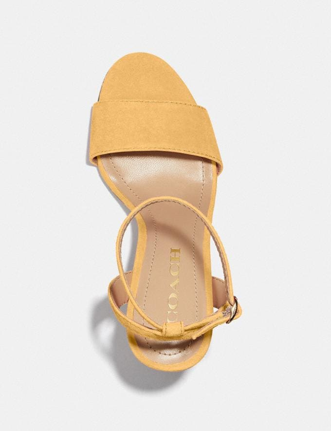 Coach Regina Sandal Tumeric PRIVATE SALE Shop by Price 40% Off Alternate View 2