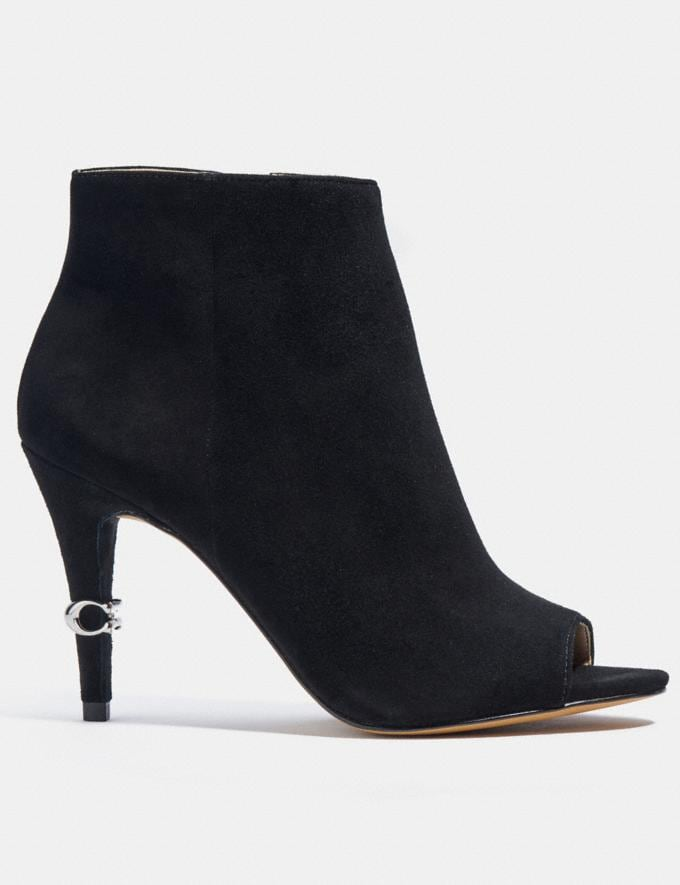 Coach Remi Bootie Black New Women's New Arrivals Shoes Alternate View 1