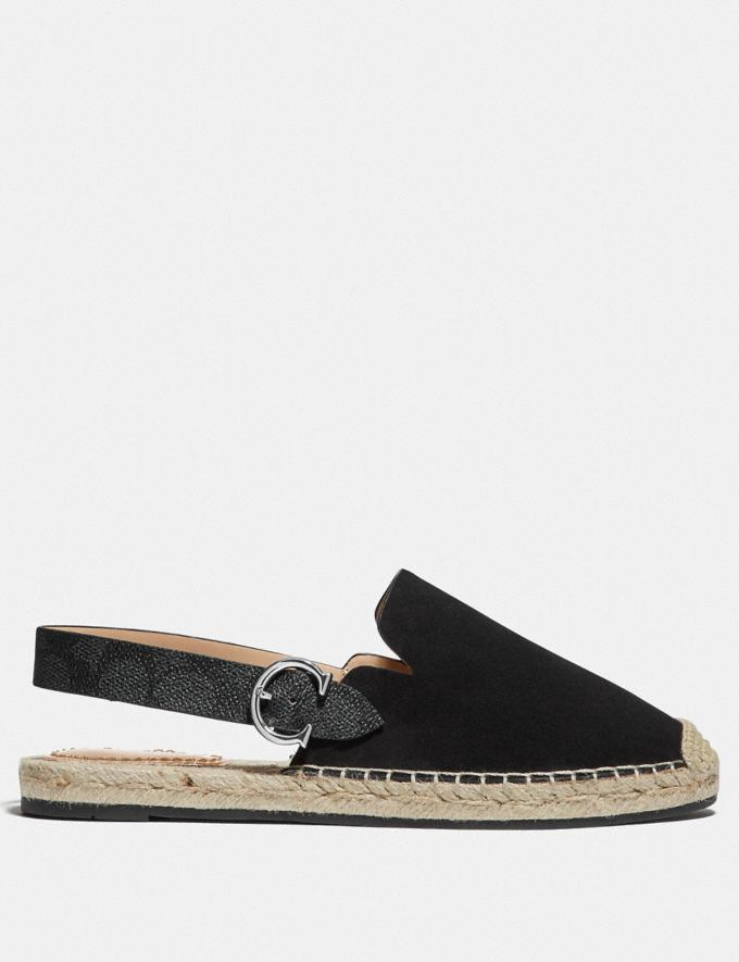 Coach Candice Espadrille Black SALE Shop by Price 30% Off Alternate View 1