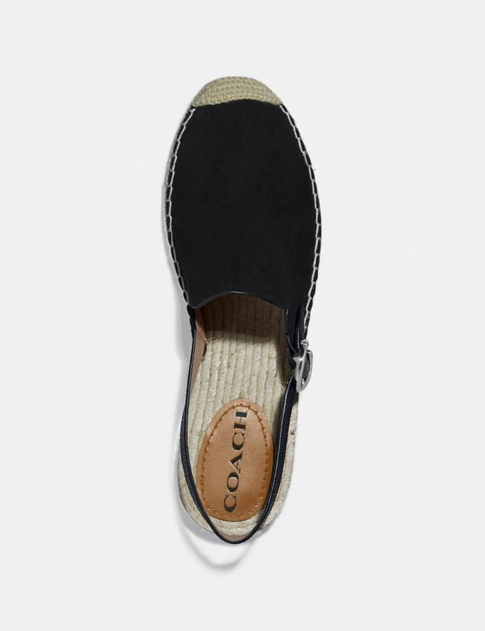 Coach Candice Espadrille Black SALE Shop by Price 30% Off Alternate View 2