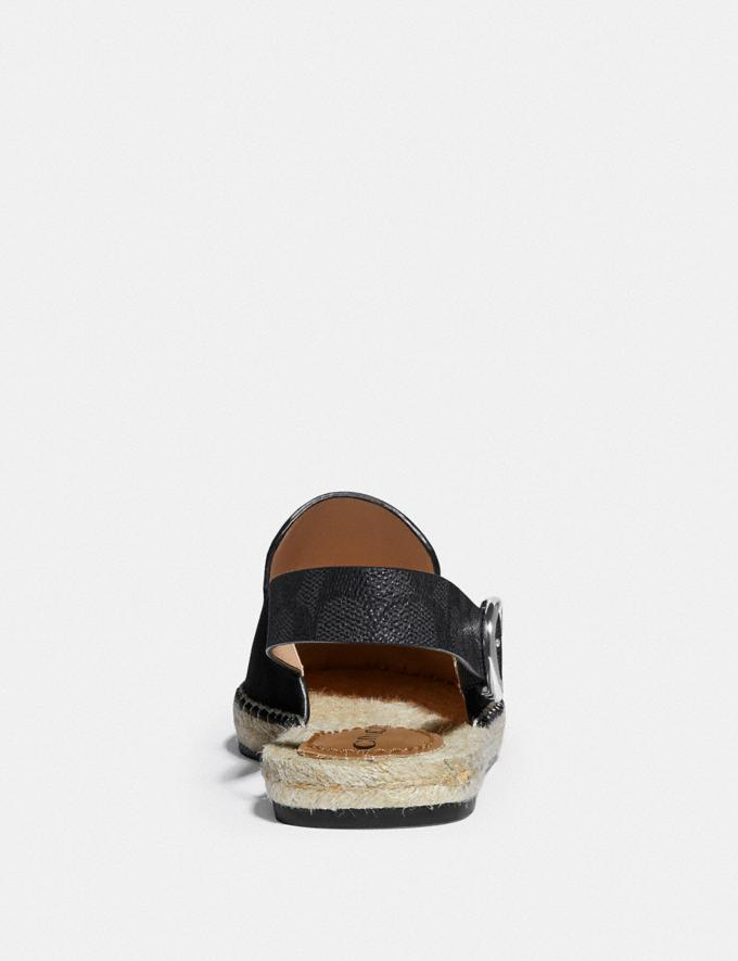 Coach Candice Espadrille Black SALE Shop by Price 30% Off Alternate View 3