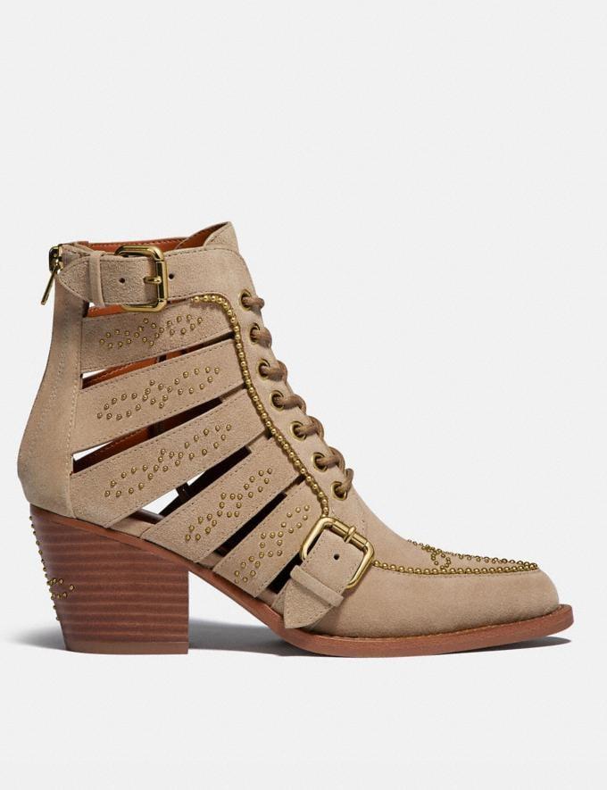 Coach Paisley Bootie Oat Women Shoes Boots & Booties Alternate View 1
