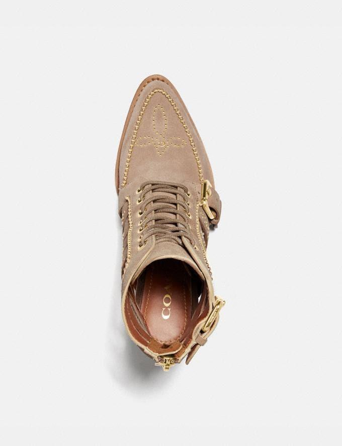 Coach Paisley Bootie Oat Women Shoes Alternate View 2