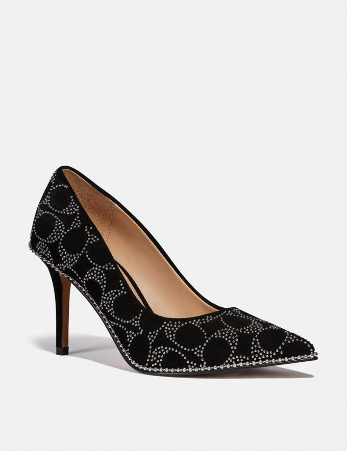 Coach Waverly Pump Black Damen Schuhe High Heels