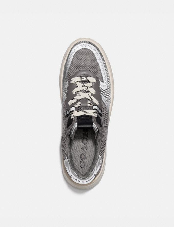 Coach Citysole Court Sneaker Silver Women Shoes Sneakers Alternate View 2