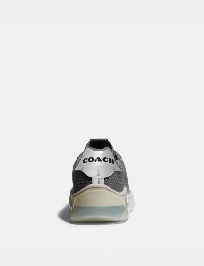Coach Citysole Court Sneaker Silver Women Shoes Sneakers Alternate View 3