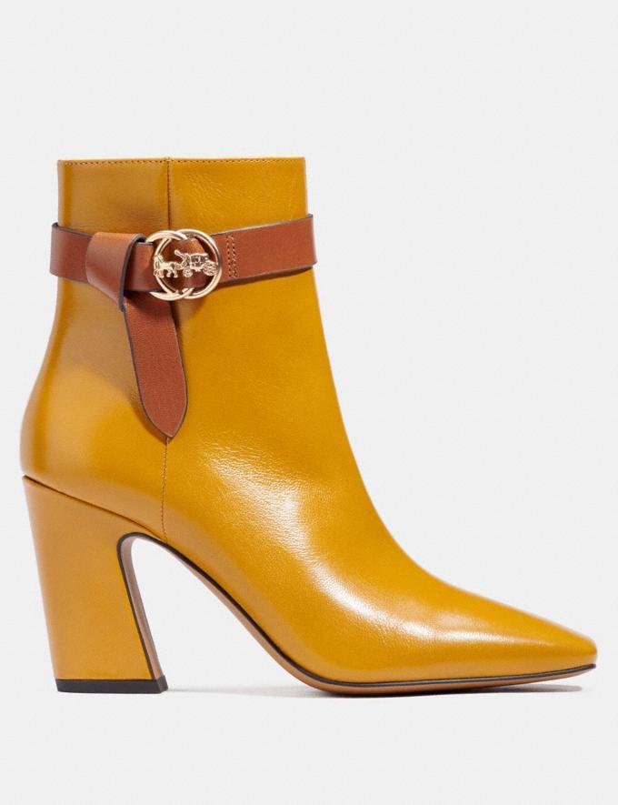 Coach Teri Stiefeletten Honey Damen Schuhe Stiefel Alternative Ansicht 1