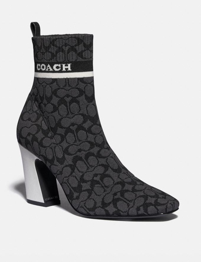 Coach Tasha Bootie Black PRIVATE SALE Shop by Price 40% Off