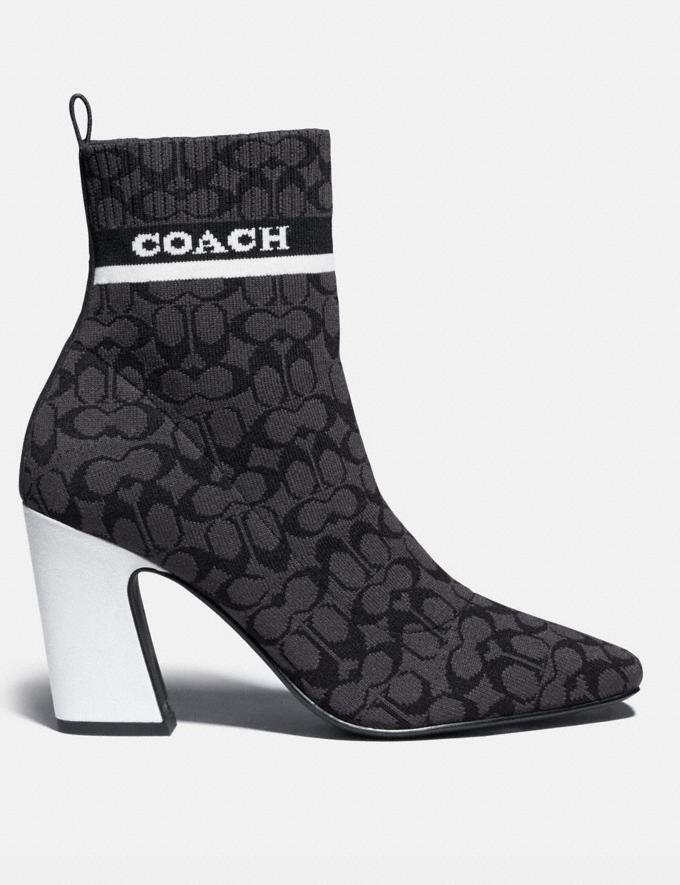 Coach Tasha Bootie Black PRIVATE SALE Shop by Price 40% Off Alternate View 1