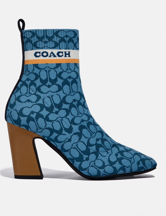 Coach Tasha Stiefelette Blau  Alternative Ansicht 1