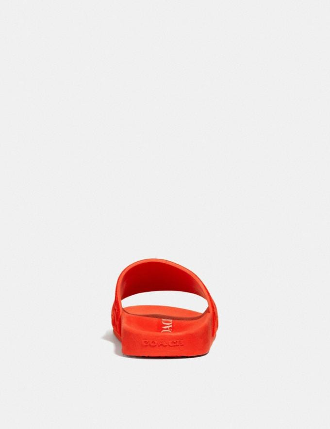 Coach Udele Sport Slide Fiery Red  Alternate View 3