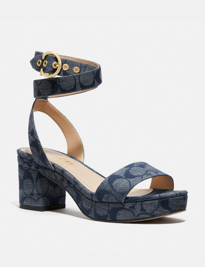 Coach Serena Sandal Chambray Gifts For Her Bestsellers
