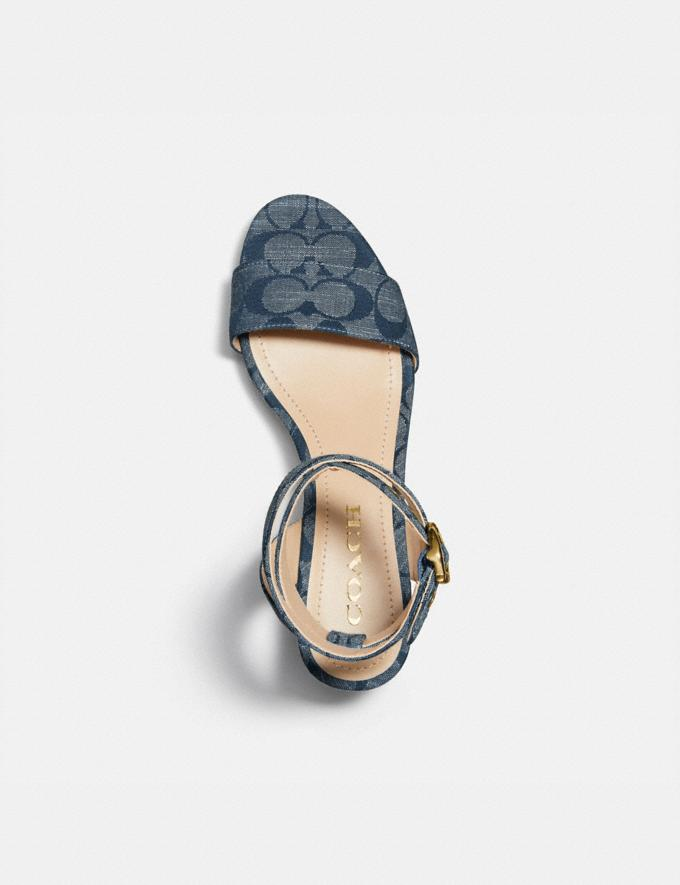 Coach Serena Sandal Chambray Damen Schuhe Sandalen Alternative Ansicht 2