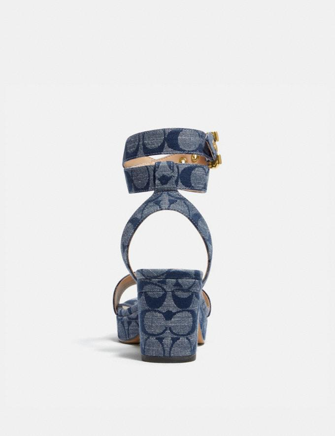 Coach Serena Sandal Chambray Gifts For Her Bestsellers Alternate View 3