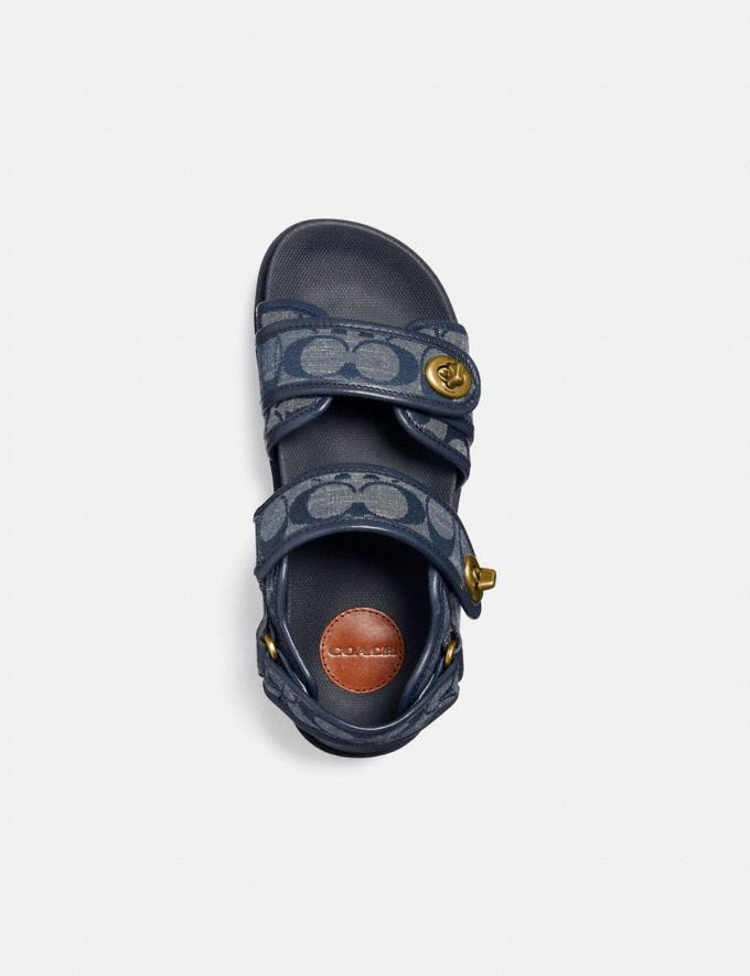 Coach Trail Sandal Chambray Mujer Calzado Sandalias Vistas alternativas 2