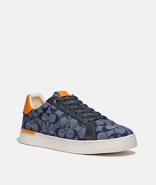 LOWLINE LOW TOP SNEAKER IN SIGNATURE CHAMBRAY