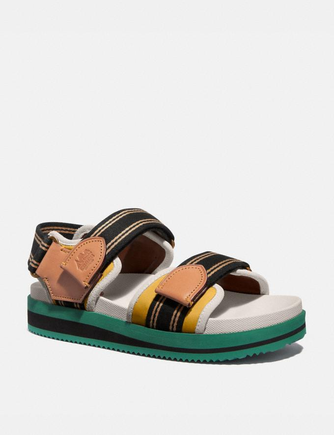 Coach Trail Sandal Reef Green Men Shoes Casual