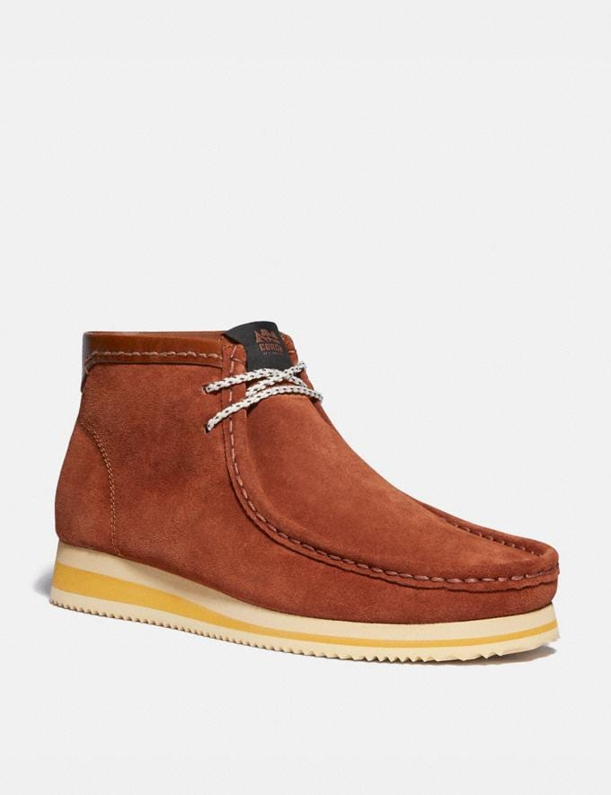 Coach Chukka Boot Sequoia Men Shoes Boots