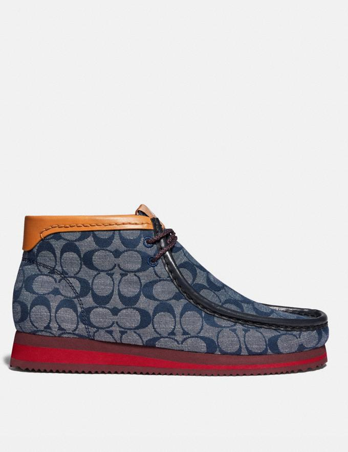 Coach Chukka Boot Chambray Men Shoes Alternate View 1