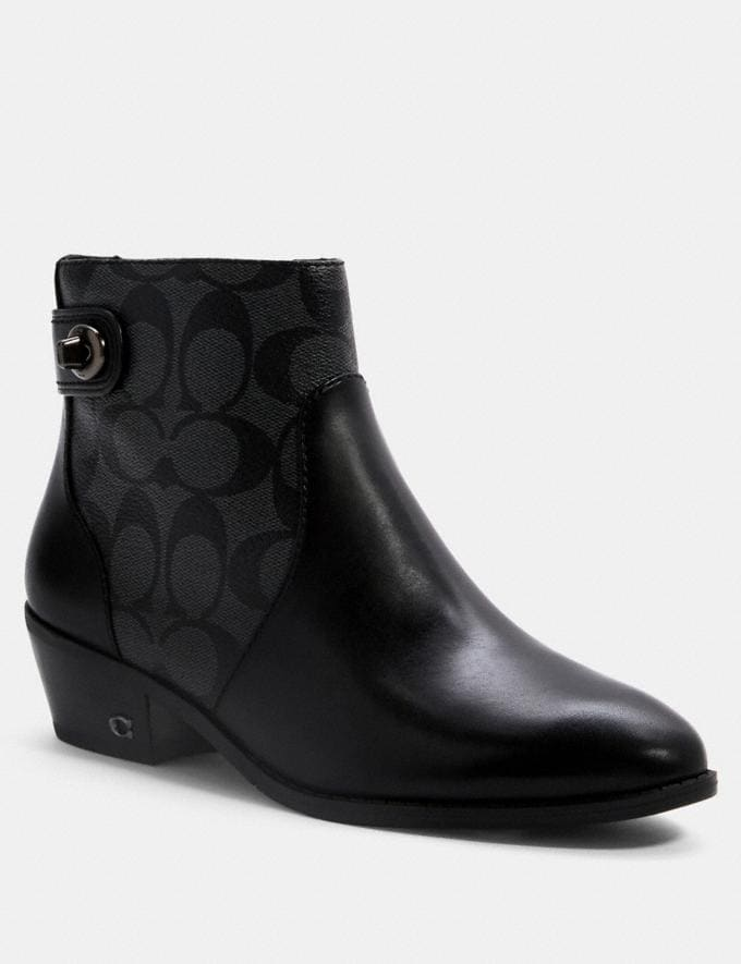 Coach Deni Bootie Black/Coal