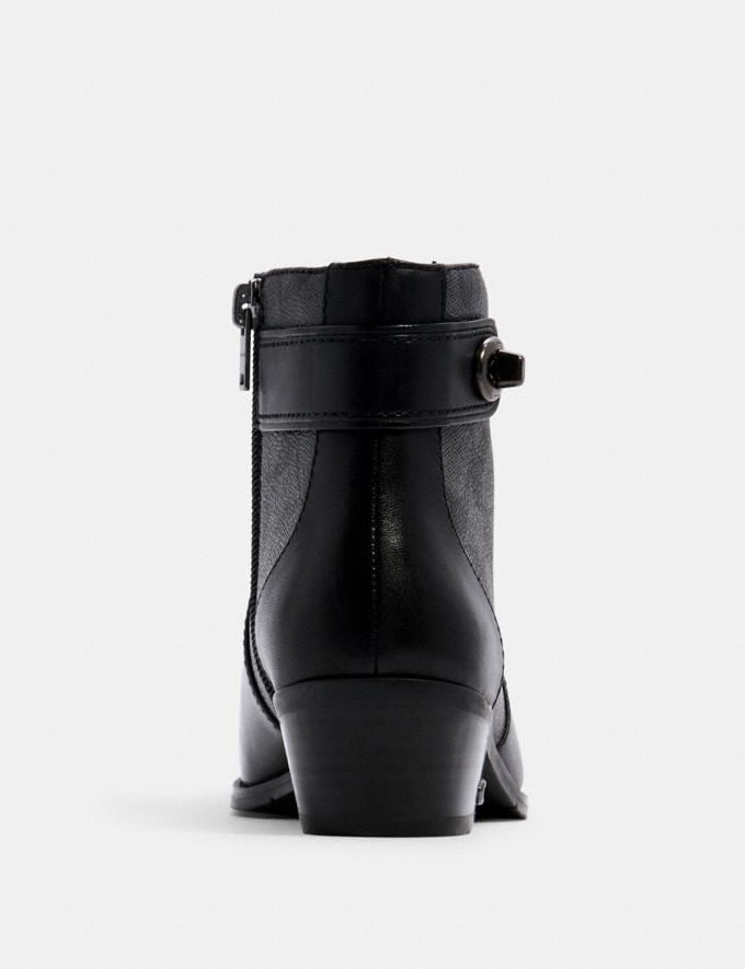 Coach Deni Bootie Black/Coal  Alternate View 3