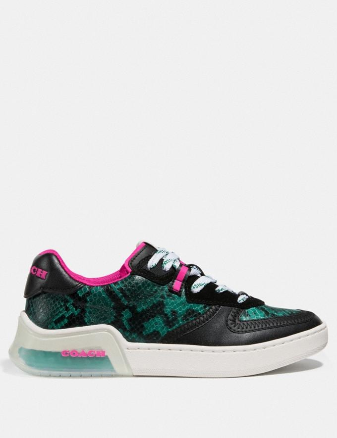 Coach Citysole Court Sneaker Reef/Black PRIVATE SALE Shop by Price 40% Off Alternate View 1
