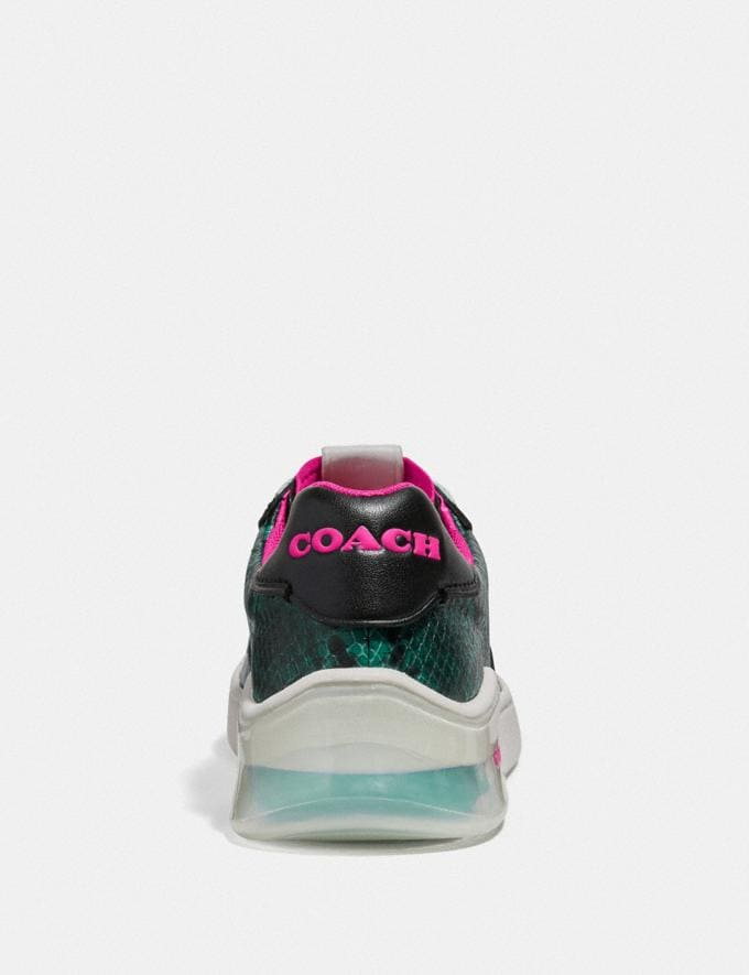 Coach Citysole Court Sneaker Reef/Black PRIVATE SALE Shop by Price 40% Off Alternate View 3