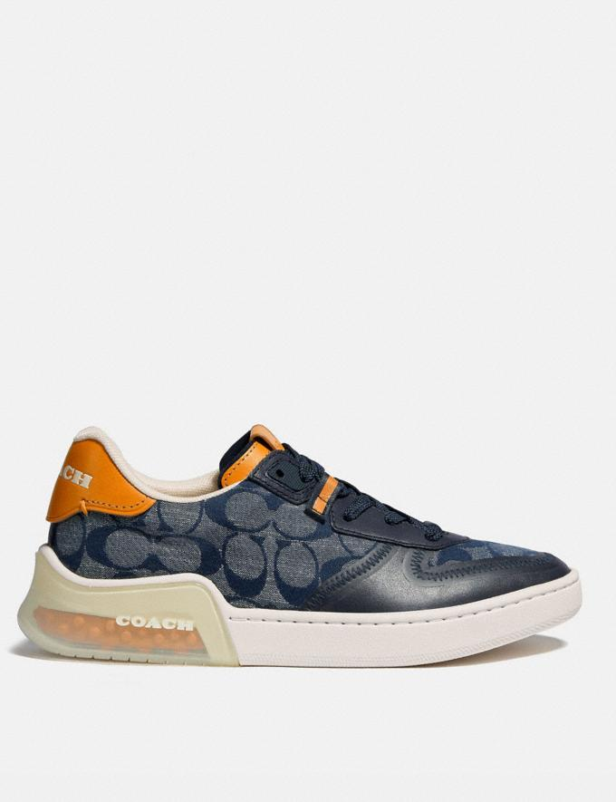 Coach Citysole Court Sneaker Chambray Women Collection Signature Alternate View 1