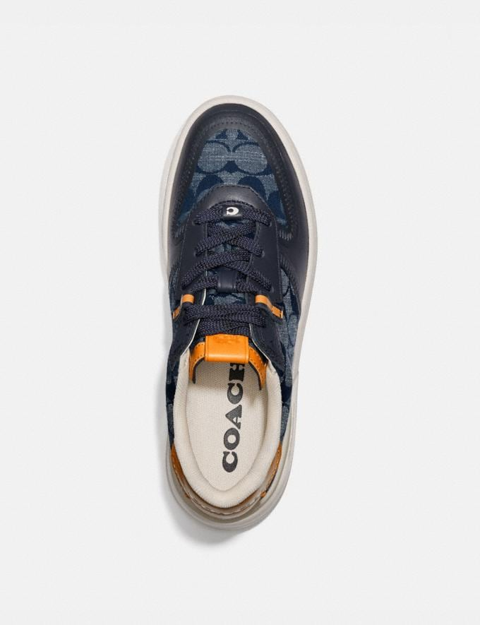Coach Citysole Court Sneaker Chambray Women Shoes Trainers Alternate View 2