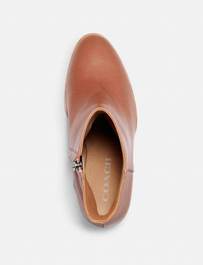 Coach Brielle Bootie Dusty Rose Women Shoes Boots Alternate View 2