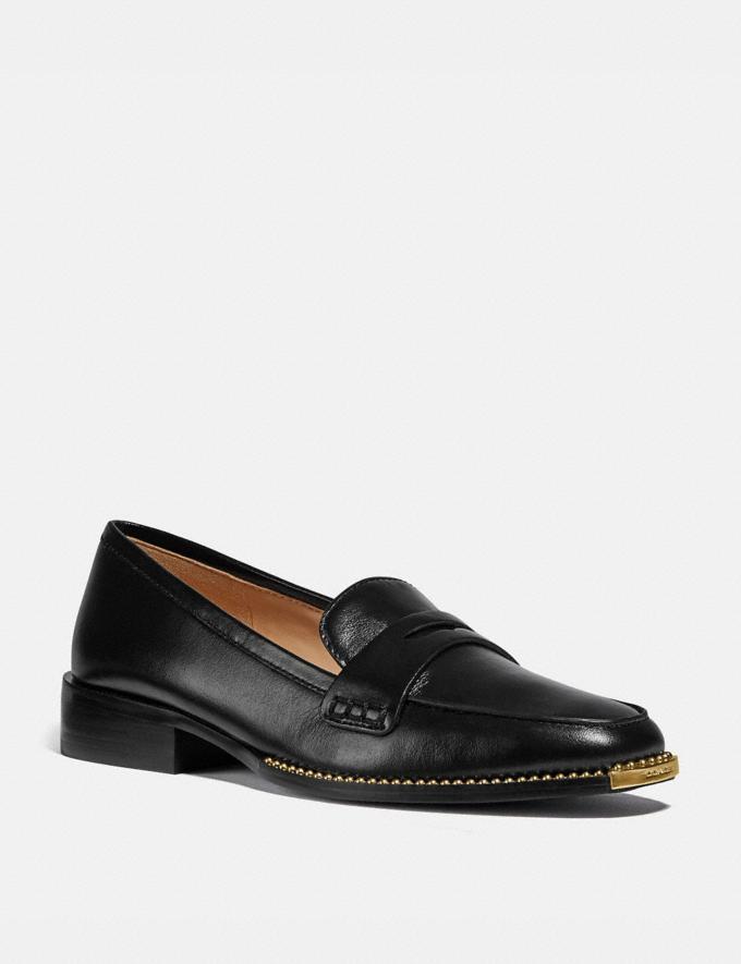 Coach Nelli Loafer Black Damen Schuhe Flache Schuhe