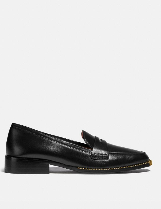 Coach Nelli Loafer Black Mujer Calzado Calzado plano Vistas alternativas 1