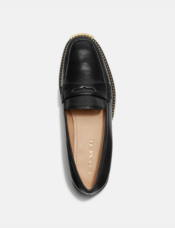 Coach Nelli Loafer Black Mujer Calzado Calzado plano Vistas alternativas 2