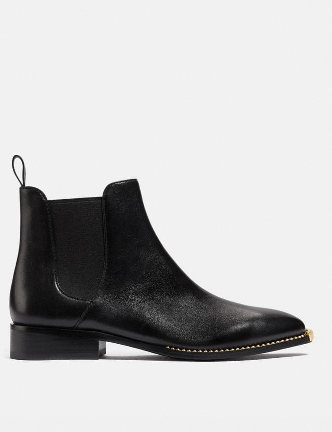 Coach Nichole Bootie Black Damen Schuhe Stiefel Alternative Ansicht 1