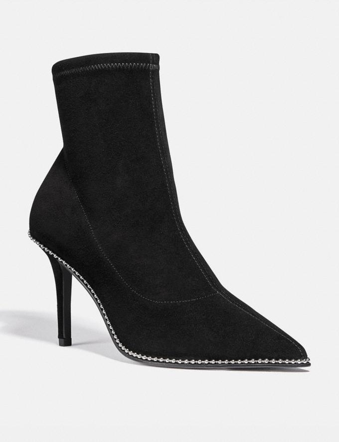 Coach Whitny Bootie Black Women Shoes Boots & Booties