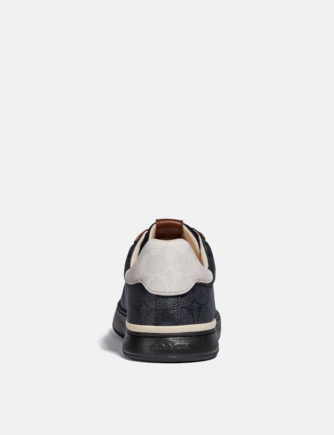 Coach Lowline Low Top Sneaker Charcoal Signature Multi  Alternate View 3