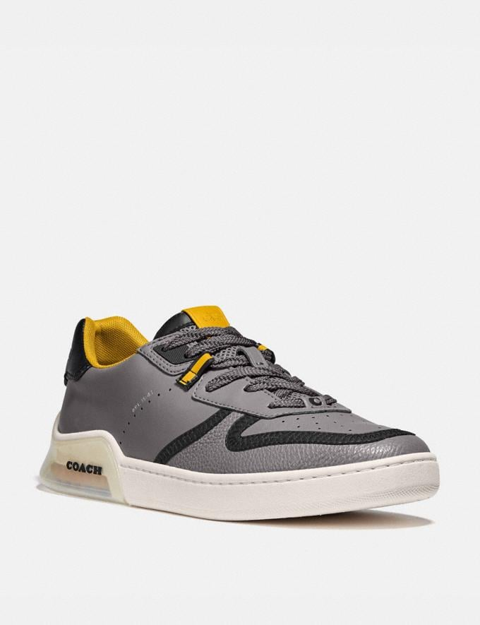 Coach Citysole Court Sneaker Heather Grey Herren Schuhe Sneaker